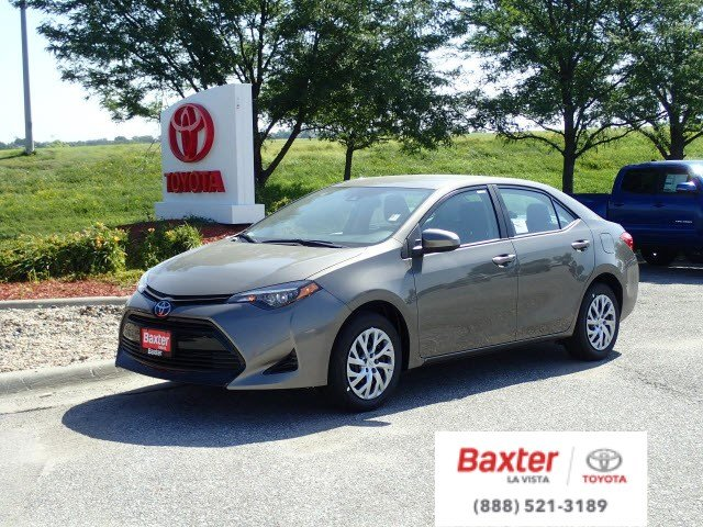 New 2019 Toyota Corolla Le 4dr Car In La Vista S2005 Baxter