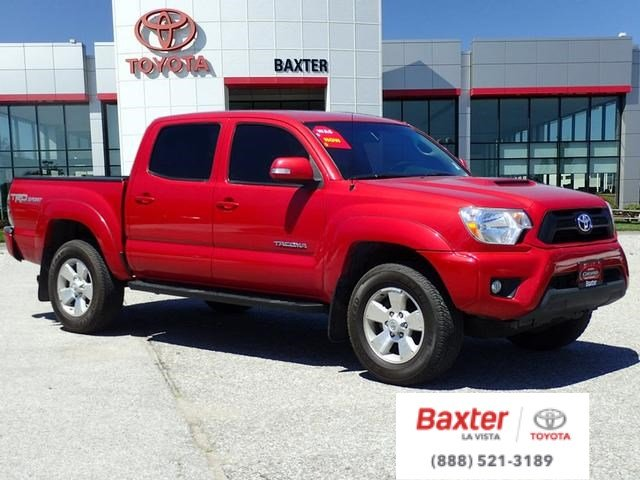 Certified Pre-Owned 2015 Toyota Tacoma 4WD Double Cab V6 AT Crew Cab Pickup