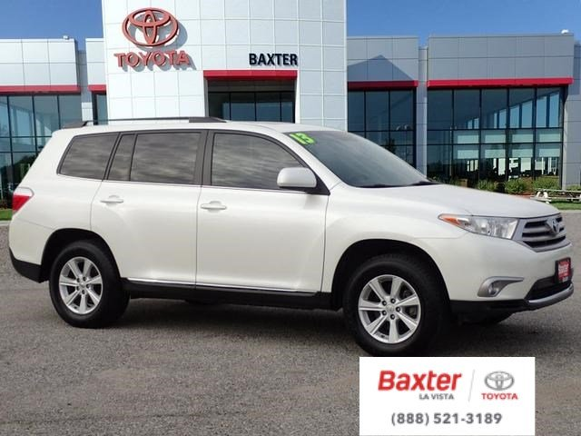 Certified Pre-Owned 2013 Toyota Highlander L
