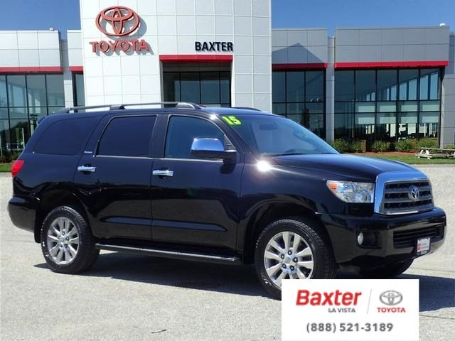 Certified Pre-Owned 2015 Toyota Sequoia PLT