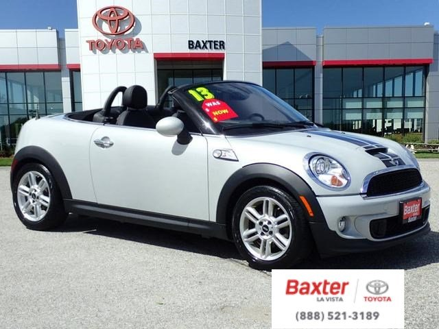 Pre Owned 2017 Mini Cooper Roadster S Convertible In La Vista S5026a Baxter Toyota