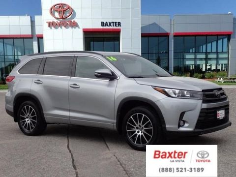 Certified Pre-Owned 2018 Toyota Highlander SPT