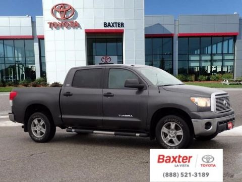 Pre-Owned 2011 Toyota Tundra 4WD Truck CrewMax 4.6L V8 6-Spd AT